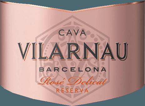 Cava Brut Reserva Rosado af Vilarnau fra den spanske vindyrkningsregion Catalonien er lavet af druesorterne Trepat (85%) og Pinot Noir (15%) - en vidunderlig elegant og saftig cava. < nonbreakingspace /> I glasset skinner denne mousserende vin i en lys hindbærrosa med lyserøde nuancer. Perlen stiger i fine, vedvarende perlestreng. Den kraftfulde buket er domineret af modne røde frugter - især røde ribs, hindbær og kirsebær. Den vidunderligt saftige frugtpåfyldning præsenteres også på ganen og ledsages af antydninger af brioche. Balancen mellem den meget subtile sødme og den friske syre er perfekt afbalanceret. Vinificering af Vilarnau Cava Brut Reserva Rosado Druehøsten (Trepat og Pinot Noir) begynder i september. Når druerne er ankommet i Vilarnau-vinkælderen, gæres mosen først i rustfri ståltanke. Derefter begynder den anden, traditionelle flaskefermentering. Denne vin lagres i flasken i mindst 9 måneder. Endelig er denne cava forkælet og kan forlade Vilarnau vingård. Madanbefaling til Rosado Brut Reserva Cava Vilarnau Denne mousserende vin fra Spanien er en vidunderlig forfriskende aperitif. Eller server denne cava med krydrede tapasvarianter og italienske pizza-klassikere.