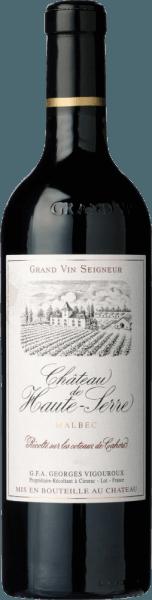Château de Haute-Serre Grand Vin Cahors AOC 2016 - Georges Vigouroux