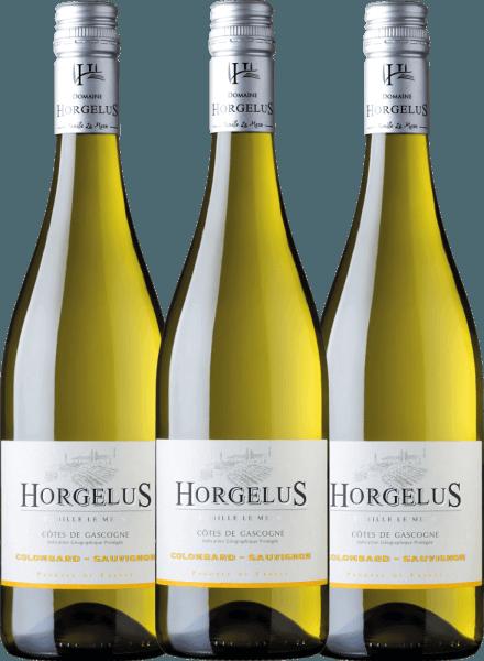 3er Vorteils-Weinpaket - Horgelus Blanc 2020 - Domaine Horgelus