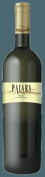 Paiara Bianco Puglia IGT fra Tormaresca skinner strågul med grønlige refleksioner i glasset. På næsen udfolder blomstrende dufte af hvide blomster og aromaer af æble og ananas, i ganen præsenterer denne hvidvin sig frisk og stimulerende, blød og smukt afbalanceret i smag. Vinificering af Paiara Bianco Puglia IGT fra Tormaresca Denne unge, let tilgængelige hvidvin er lavet af Chardonnay, Bombino Bianco og andre lokale hvide druesorter. Udvidelsen finder sted helt i rustfri ståltank. Fødevareanbefalinger til Paiara Bianco Puglia IGT fra Tormaresca Nyd denne friske, ukomplicerede hvidvin fra Apulien med krebsdyr, let SAlaten og grillet fisk ved en temperatur på ca. 10 ° C. Ideel som en buketvin til en picnic på stranden med venner og familie.