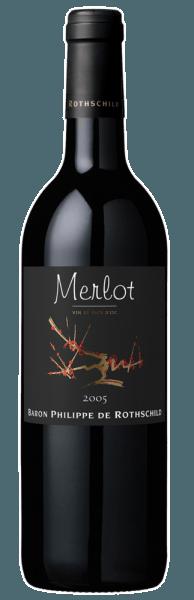 Les Cépages Merlot Pays d'Oc - Baron Philippe de Rothschild
