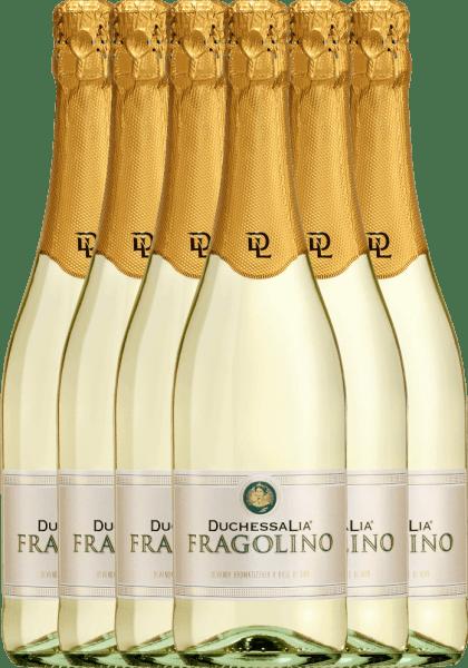 6er Vorteilspaket - Fragolino Bianco - Duchessa Lia