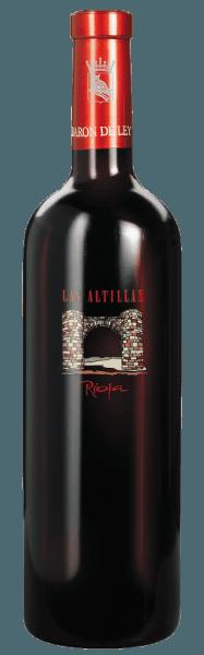 Las Altillas af Barón de Ley har en stærk, saftig smag af røde frugter, tobak og krydderier med uden at være påtrængende. Rødvinen modnes ikke kun i amerikanske egetønder, men også delvis i franske egetønder. Før påfyldningen filtreres vinen kun let og præsenterer sig derefter som en moderne Rioja-vin i høj klasse. Denne vin kan opbevares meget godt, men kan også drikkes ung.