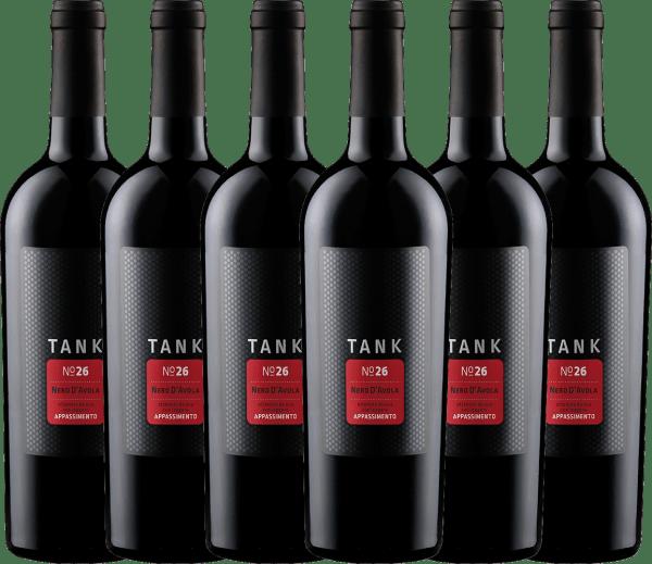 6er Vorteils-Weinpaket - TANK No 26 Nero d'Avola Appassimento IGT 2019 - Cantine Minini