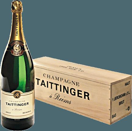 Brut Réserve-champagnen fra Champagne Taittinger er en livlig, harmonisk mousserende vin fremstillet af de klassiske champagnedruesorter Pinot Noir (40%), Chardonnay (40%) og Pinot Meunier (20%). I glasset skimrer denne mousserende vin i et skinnende let guld og skinner med en fin perlage og en delikat og vedvarende mousseux. Den friske buket er kendetegnet ved duftende noter af modne mirabelleblommer, knasende æbler, mandler og kandiseret citronskal. Næsenes aromaer er underlagt med fine mineralnoter. På ganen er denne champagne saftig og frisk med en vidunderlig livlig karakter. Den aromatiske frugt og den vitale syre fungerer perfekt sammen. Den silkeagtige finale har en vidunderlig behagelig længde. Vinificering af Taittinger Brut Réserve Double Magnum Champagne Druerne til denne vidunderlige mousserende vin kommer fra forskellige steder og vinmarker i Champagne-voksende region. Høsten udføres helt i hånden, og druerne bringes straks til vinkælderen. Der presses druerne omhyggeligt hele. Musterne fermenteres derefter i rustfri ståltanke, og de unge vine med oprindelse giftes med udvalgte reservevine fra tidligere årgange for at danne reservevine-cuvée. Til den anden gæring fyldes basisvinen i flasker med tilsætning af påfyldningsdosis (gær og sukker) og modnes i Taittinger-vinkælderen. Ved at ryste og dreje regelmæssigt, den gær, der oprindeligt var i bunden gradvist indsamler, i flaskehalsen. Endelig er denne champagne forkælet. Gærproppen er frossen i flaskehalsen, og flasken åbnes. Manglen forårsaget af åbning er fyldt med en forsendelsesdosis (sukker og vin). Fødevareanbefaling til Jeroboam Taittinger Champagne Brut Réserve Denne mousserende vin fra Frankrig er en meget fin aperitif før hver menu og ved alle festlige lejligheder for at give udtryk for øjeblikket. Denne champagne er også et fremragende tilbehør til fisk eller skaldyr, den perfekte afslutning på en menu med farverige frugtdesserter og en vidunderlig forfriskning. Præmier for Brut Réserve fra C