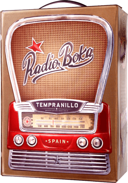 Radio Boka Tempranillo DO 3,0 l Bag in Box Weinschlauch - Hammeken Cellars