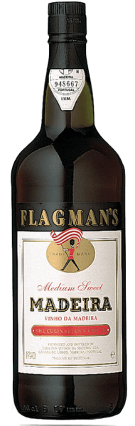 Madeira Flagman's Medium Sweet 1,0 l - Henriques & Henriques