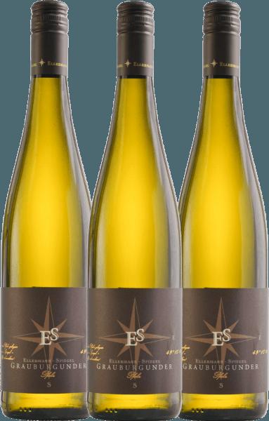 3er Vorteils-Weinpaket - Grauburgunder trocken 2020 - Ellermann-Spiegel