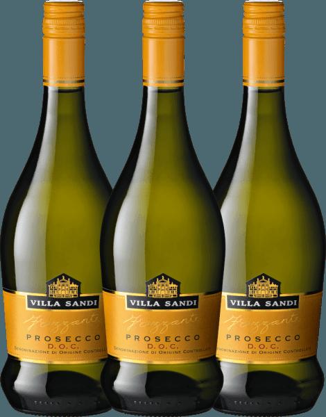 3er Vorteils-Weinpaket - Prosecco Frizzante DOC - Villa Sandi