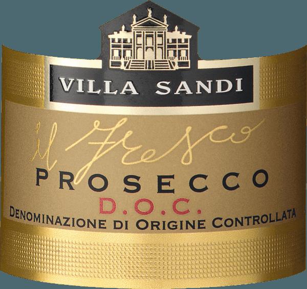 """Villa Sandi Prosecco il Fresco il Fresco Prosecco Spumante DOC Brut fra Villa Sandi er flere gange blevet kåret til Årets Prosecco (Weinwirtschaft - Meininger Verlag) . Det er og forbliver en virkelig enestående, crunchy, frugtagtig anbefaling! """"Great grape cinema"""" skriver magasinet GQ. Prosecco il freso er den rigtige Prosecco til den næste familiefest, den rette aperitif til en tilsvarende vinsmagning eller bare et godt måltid. En af VINELLOs bestsellere af Prosecco. Smagsnota fra Villa Sandi il Fresco Prosecco Spumante DOC Brut Den har en strågul farve med en ekstremt subtil, fin og silkeagtig perlage og en langvarig, frisk mousseux. Il Fresco betyder """"friskheden""""! På næsen og på ganen vises aromaer af friske Granny Smith-æbler og Williams-pærer samt cantaloupemelon. I munden ser det frisk og tangy ud og ved, hvordan man overbeviser med sit perfekte samspil mellem sødme og surhed. Simpelthen en storslået, perfekt produceret mousserende vin Prosecco, der skærer en fin figur både som aperitif og som ledsagelse til lette retter. Præmier fra Villa Sandi Prosecco il fresco Ti gange i træk vandt Il Fresco af Villa Sandi prisen Prosecco of the Year fra specialmagasinet """"Weinwirtschaft"""" acceptere. Mundus Vini 2014: Guld til Villa Sandi Prosecco il fresco Weinwirtschaft: Prosecco of the year 2015, 2014, 2013, 2012, 2011, 2010, 2009, 2007, 2006 & amp; 2004 og bedste mousserende vin i Italien 2008 """"Virker næsten uovervindelig som Prosecco Spumante i den tyske specialiserede handel. Stabil kvalitet plus udstyr på højeste niveau."""""""
