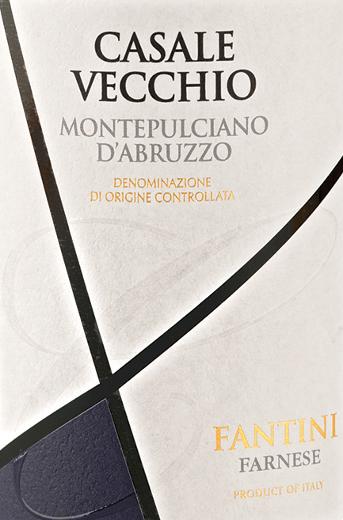 Casale Vecchio Montepulciano d'Abruzzo af Farnese Vini er en velstruktureret, behageligt frugtagtig og elegant rødvin fra den italienske vinregion DOC Montepulciano d'Abruzzo i Abruzzo. I glasset skimrer denne vin i en stærk rubinrød med granatrøde højdepunkter. Den dvælende buket bæres af frugtagtig, intens aroma af røde frugter (hindbær og ribs), svesker, noter af amaretto og lidt marsipan - Den frugtagtige aroma afrundes af fine krydderier. Ud over den elegante frugtighed dominerer de bløde tanniner på ganen, som harmonerer perfekt med den afbalancerede struktur og hele kroppen. Vinificering af Farnese Vini Casale Vecchio Efter at druerne var høstet, fandt gæringen sted ved en lav temperatur. Efter den malolaktiske gæring blev denne vin overført til amerikanske egetønder og modnet i disse i 6 måneder. Fødevareanbefaling til Farnese Vini Casale Vecchio Nyd denne tørre rødvin fra Italien med ældet ost eller grillet kød. Præmier for Farnese Vini Casale Vecchio Mundus Vini: Guldmedalje for 2014 AWC Vienna International Wine Challenge: Sølvmedalje for 2014