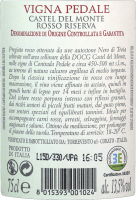 Preview: Vigna Pedale Castel del Monte Riserva DOCG 2015 - Torrevento